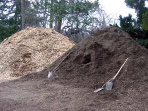 Greenwood Cemetery mulch