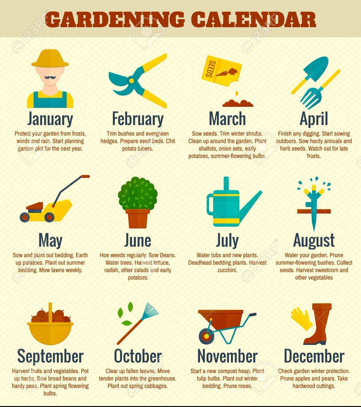 Nursery Calendar Ideas : Spring happenings upcoming activities events to note